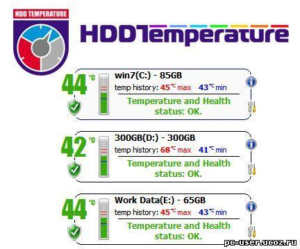 HDD Temperature v 4.0.25 (Eng/Rus)